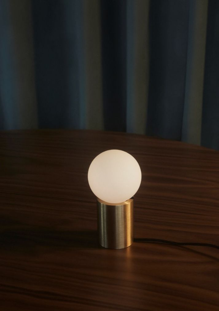 MENU | Socket Occasional Lamp, Shot by Claus Troelsgaard