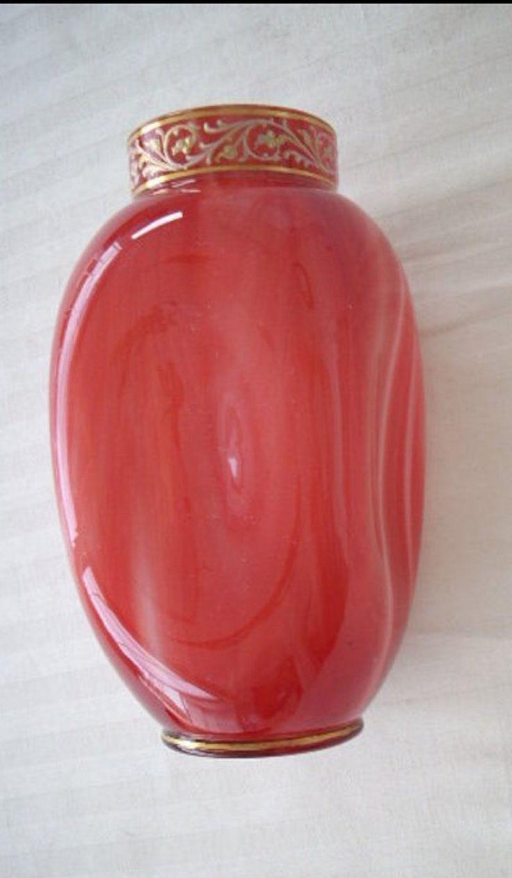 1517 best art glass loetz images on pinterest flower vases loetz tall carnelian art glass vase reviewsmspy