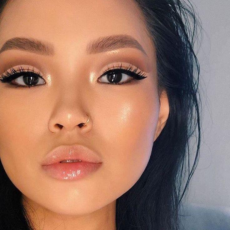 макияж для азиатских глаз без век фото статье