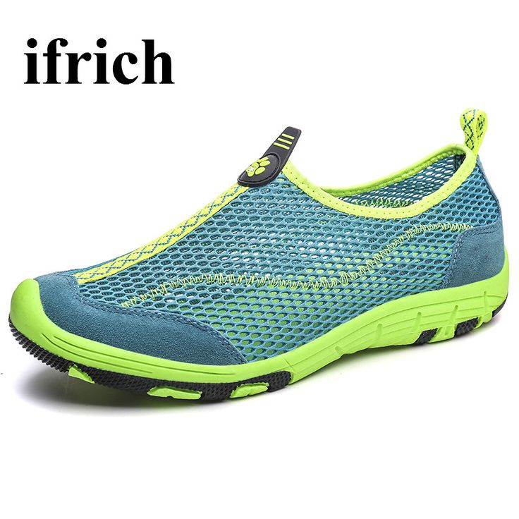 Mens Walking Shoes Breathable Shoes Men Outdoor Summer Hiking Shoes For Men Green/Gray Men's Athletic Trainers #Affiliate