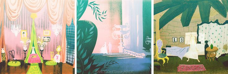 Cinderella Concept Art by Mary Blair