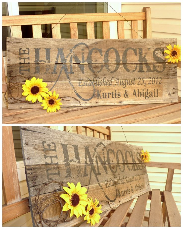 pallet name sign | Knick Knack on Wood: More Pallet Signs...