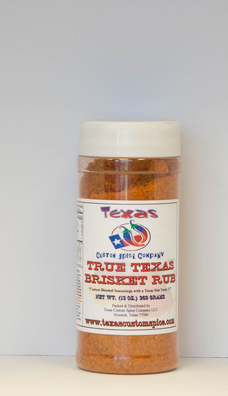 This multi-purpose brisket rub, is without a doubt our # 1 seller among our family of Texas BBQ seasonings. True Texas Brisket Rub's bold and distinctive flavor constitutes a natural beef flavor, alon