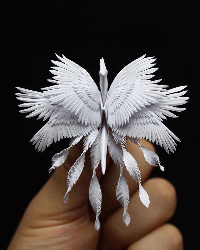 Mê mẩn ngắm những kiệt tác hạc giấy của nghệ thuật gấp giấy Origami | Nghệ  thuật gấp giấy origami, Nghệ thuật, Đồ mỹ nghệ tự làm