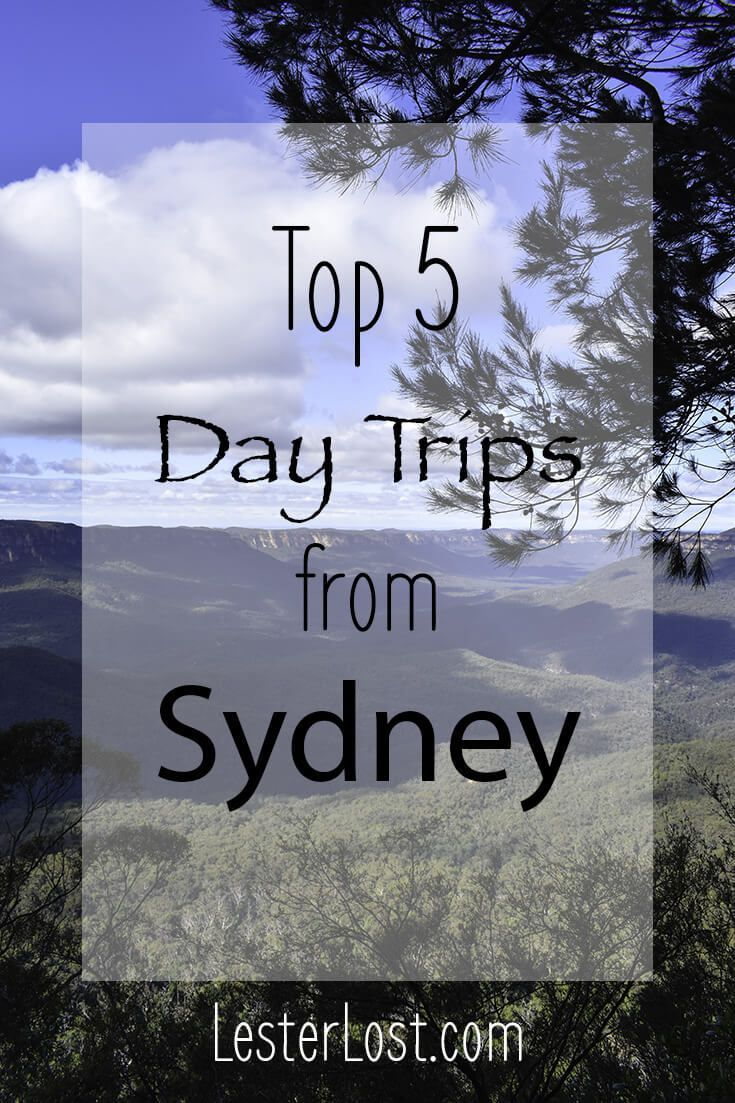 Top 5 tried and tested day trips from Sydney, Australia. Easy and relaxing day trips to discover Sydney's beautiful surrounds via @Delphine LesterLost