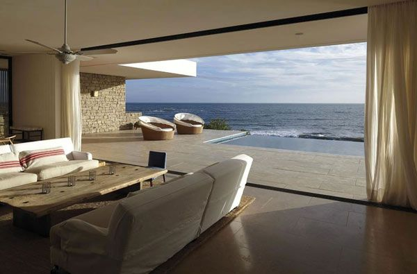 Buenos Mares Villa by RDR Arquitectos: Swimming Pools, Living Rooms, Beach House, Dreams, Mare Villas, The View, Rdr Arquitectos, Buenos Mare, Ocean View