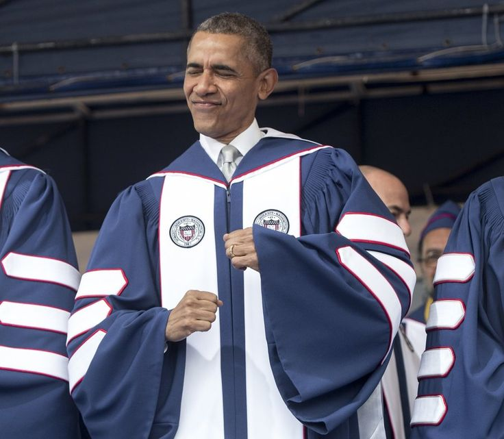 Barack Obama delivered the commencement speech at Howard University on May 7, 2016.