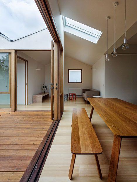 Profile House table by BLOXAS | Profielen huis tafel ontworpen door BLOXAS