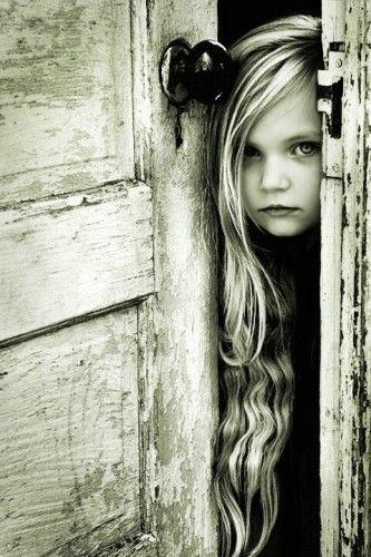 beautiful - through the open door