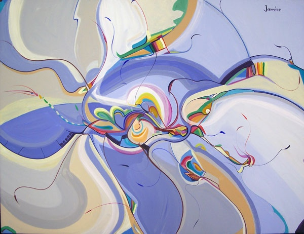 """Beautiful Culture"" by Alex Janvier, Dene Suline and Saulteaux"