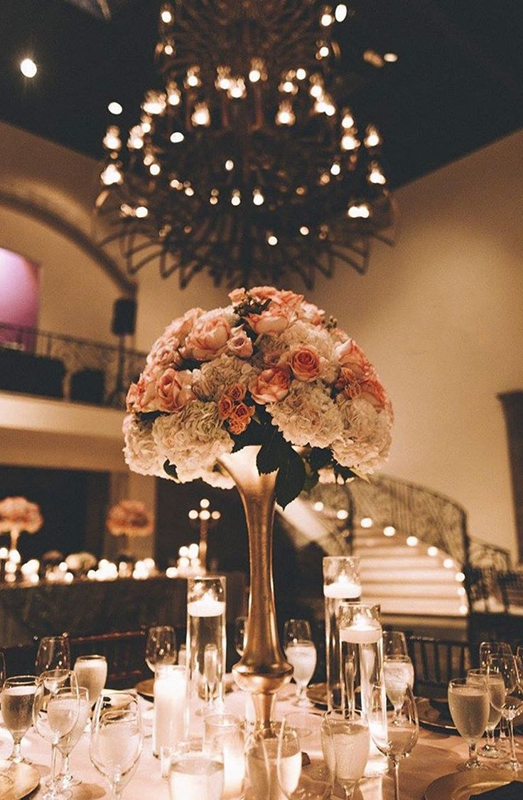 30 best chandelier ballroom owners picks images on pinterest dont you just love this elegant reception setup in the chandelier thanks arubaitofo Gallery