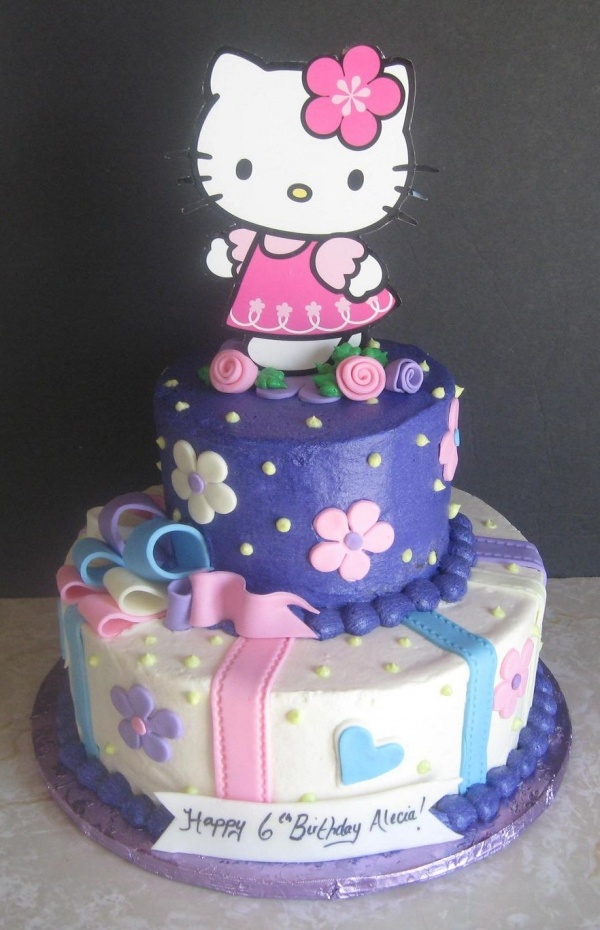 Image detail for -Hello Kitty Birthday Cake by Karabear1125 on Cake Central