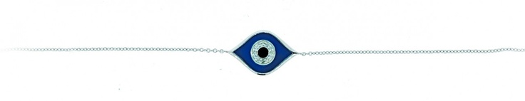 Shop Jewel City - ELAN 'EVIL EYE' DIAMOND BRACELET - E103, $360 (http://www.shopjewelcity.com/elan-evil-eye-bracelet-e103/)
