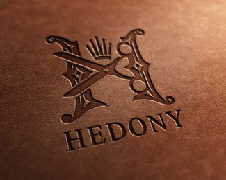 Hedony Logo Design | #corporate #branding #creative #logo #personalized #identity #design #corporatedesign < repinned by an #advertising agency from #Hamburg / #Germany - www.BlickeDeeler.de | Follow us on www.facebook.com/BlickeDeeler