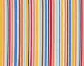 Slender stripe in clementine - Michael Miller