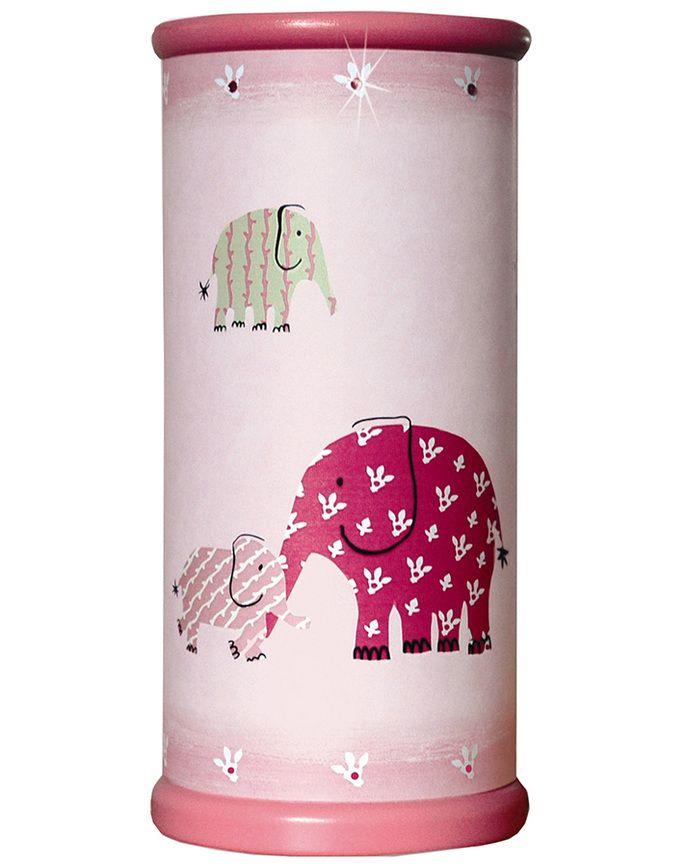 Tischleuchte ELEFANT in rosa
