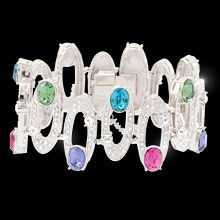 clear and colored crystal is jewellery so extraordinarily beautiful that it fairly takes your breath away.