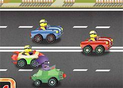 JuegosdeMinion.com - Juego: Carrera Loca Minions - Jugar Juegos Gratis Online Flash