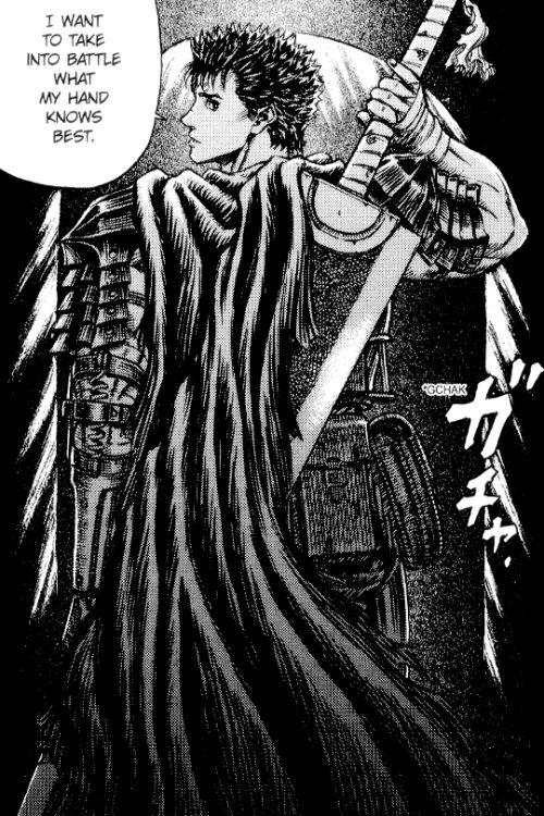 Anime Characters Like Guts : Best berzerk images on pinterest berserk armors and