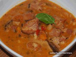 Serbian Bean Soup (Pasulj)
