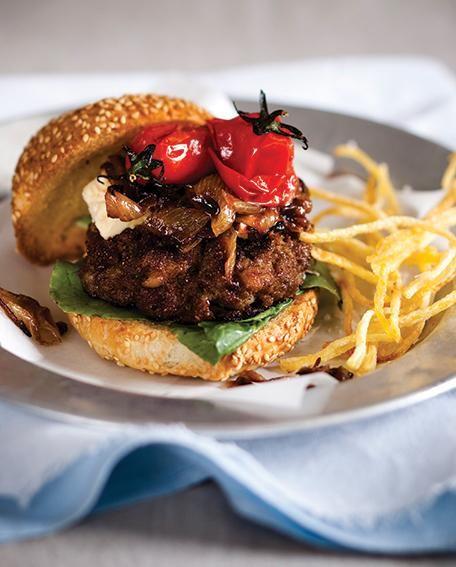 Basiese biefburger