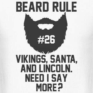 Beard rule #26