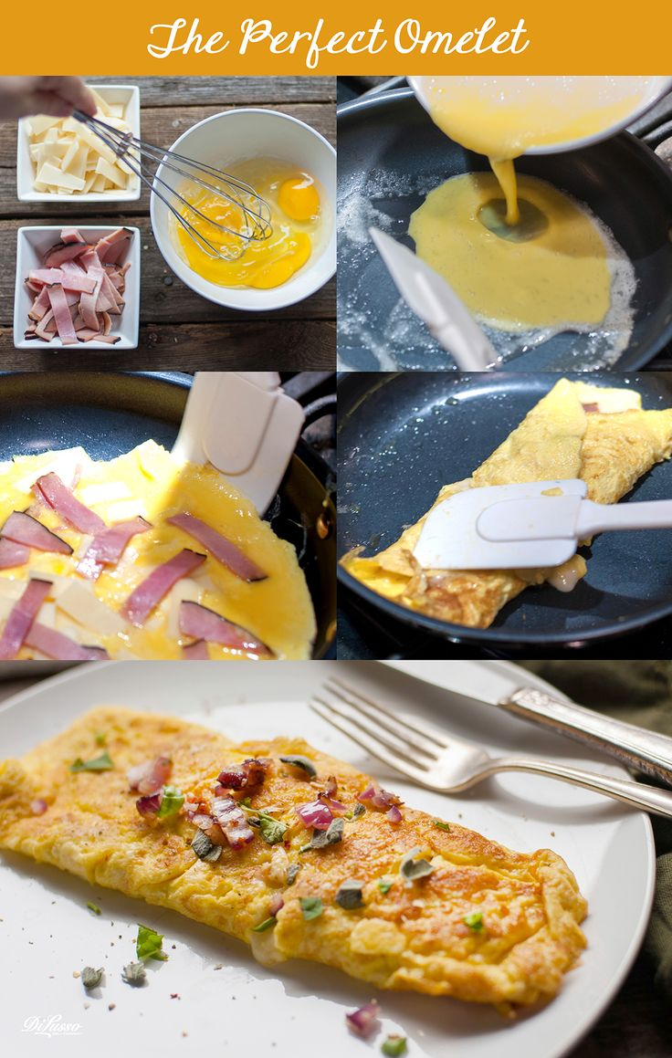 """Making the perfect omelet isn't hard, but it may take a few trial runs to get it just right.  Here are step-by-step instructions to make the """"perfect"""" omelet."""