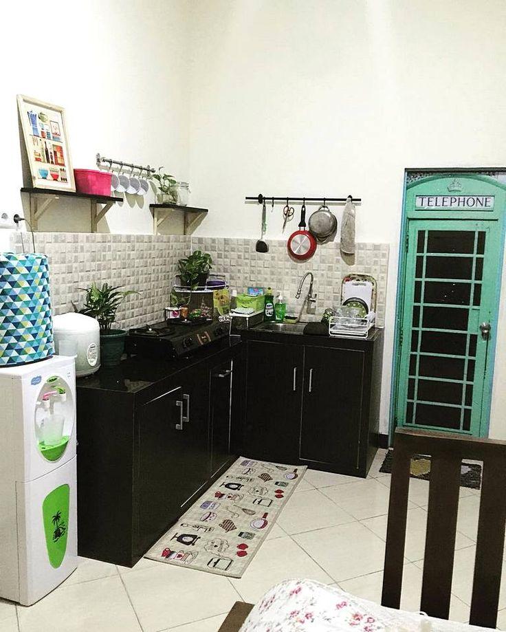 Model Dapur Sederhana Tanpa Kitchen Set
