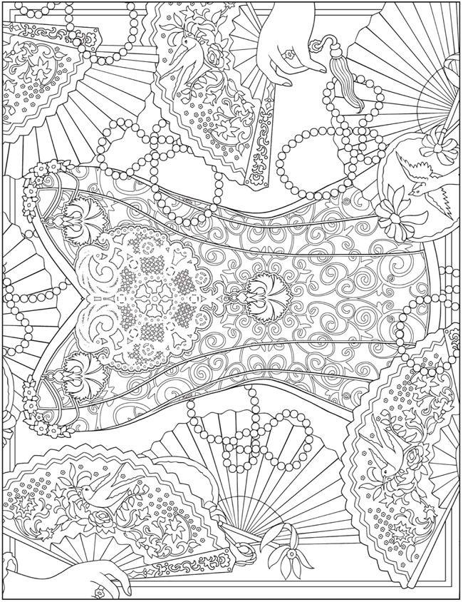 dover publications free coloring pages | De 25+ bedste idéer til Dover publications på Pinterest