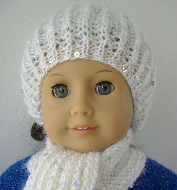 Knitting Pattern For A Dolls Hat : 262 best images about Knit/Crochet Doll Outfits on Pinterest Barbie dress, ...