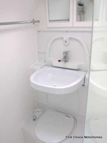 Fold Away Sink Small Toilet Transforming Furniture Motorhome