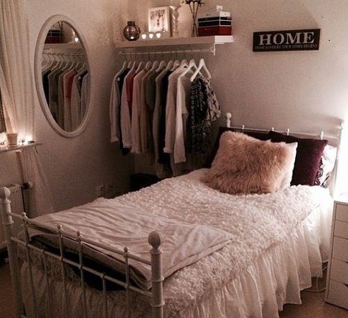clothing storage for a small room