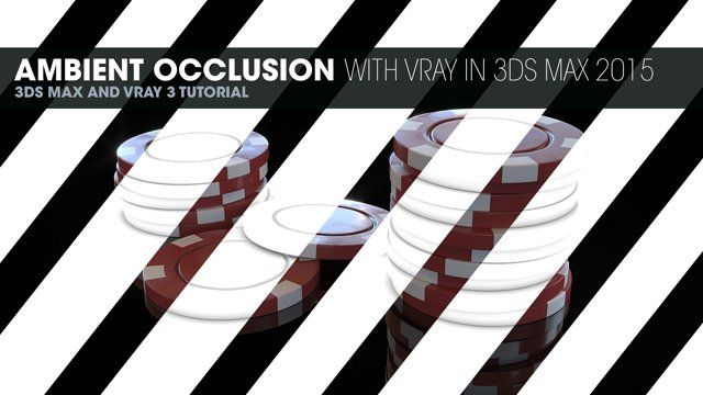 Vray: We do a regular AO pass to be used in post and also a render to texture. Hdri images can be found here: http://www.hdrlabs.com/sibl/archive.html See the full article and get the project files at http://tiner.co/tutorials/ambient-occlusion-with-vray-in-3ds-max-2015/
