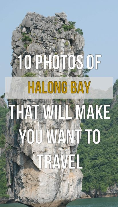 Halong Bay on Pinterest