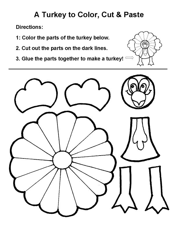 Thanksgiving Turkey Crafts Cupcakes and Crinoline