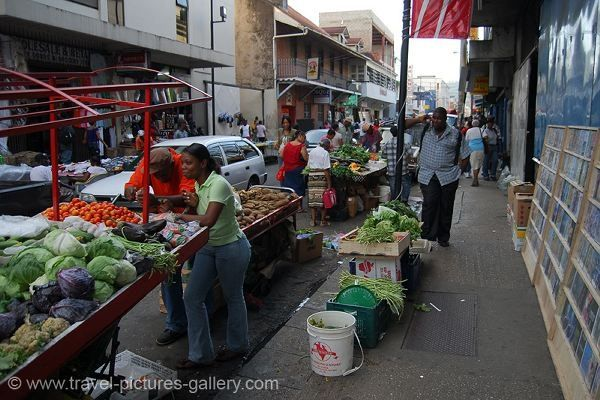 trinidad and tobago fruits and vegetables | Pictures of Trinidad & Tobago - Port of Spain - fruit and vegetable ...