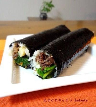 節分に如何?韓国キンパ風のり巻き(レシピ付)。 by musashiさん ...