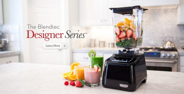 The World's Best Blenders, Mixers & Grain Mills   Blendtec.com - I hear they work like a Vitamix? They're *somewhat* cheaper...