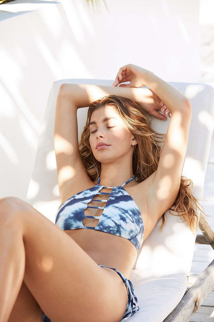 Billabong Tidalwave High Neck Bikini Top - Urban Outfitters