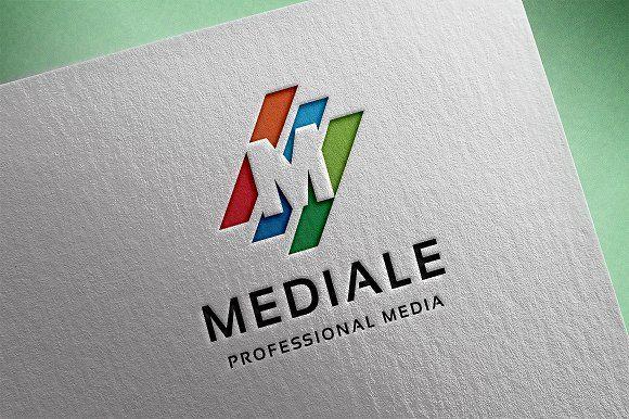 Mediale - #Letter M #Logo - Logos | Kuva Creative | Letter m logo