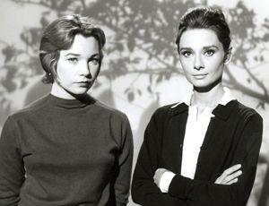Shirley MacLaine (FN) & Audrey Hepburn (FG)