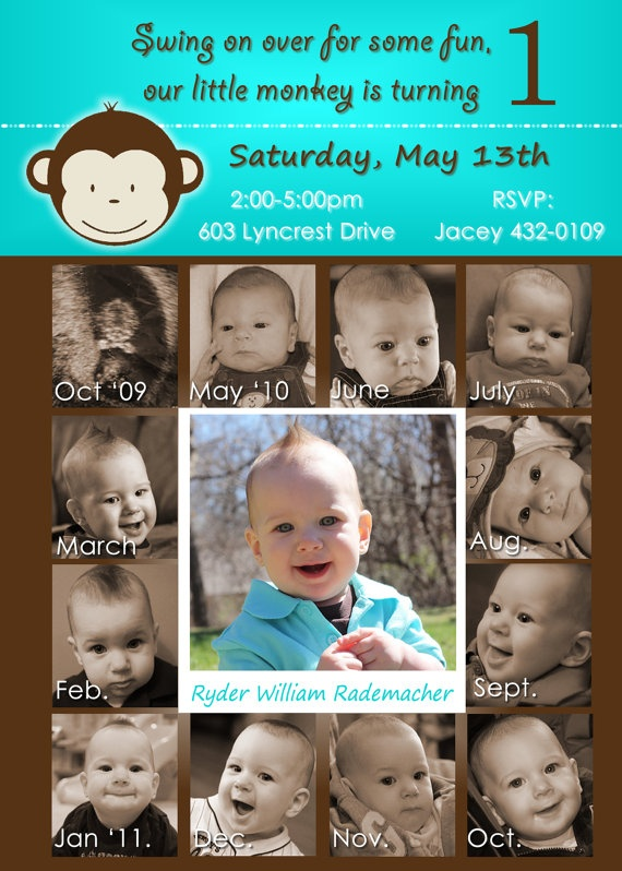 17 Best images about 1st birthday on Pinterest Birthday party - invitation card for ist birthday