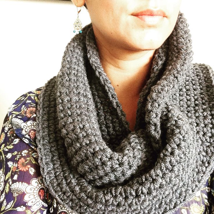 Grey infinity - made to order. Email: amanomadewithlove@gmail.com.  IG: amanomadewithlove