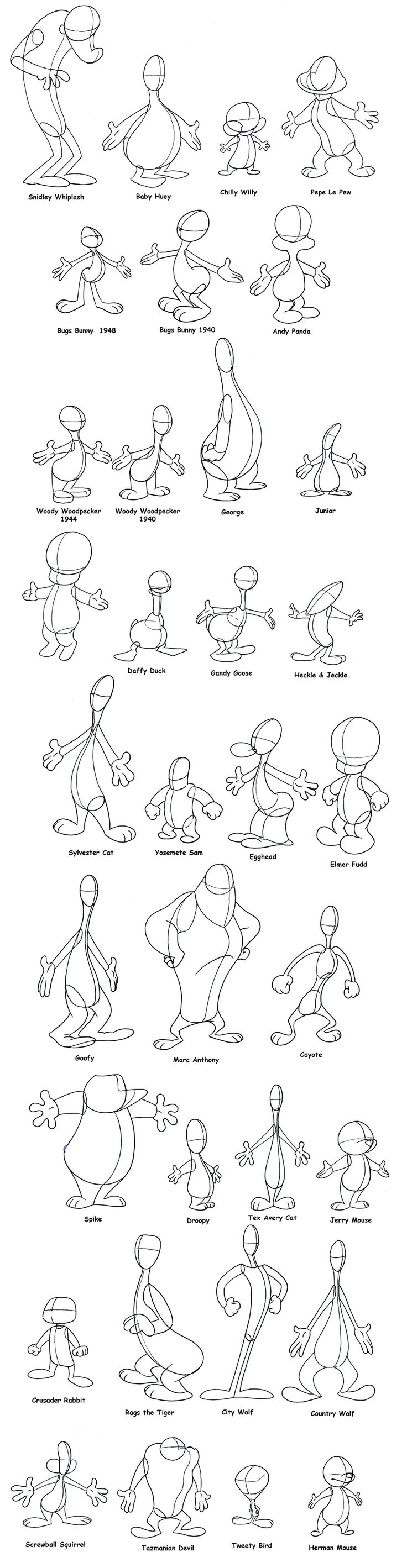 Characters basics | #drawing #tutorial #training #creative #paper #pen #design #character #basics