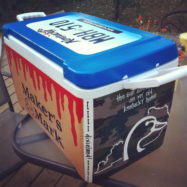 Diy Painted Cooler : Best frat cooler ideas images on pinterest