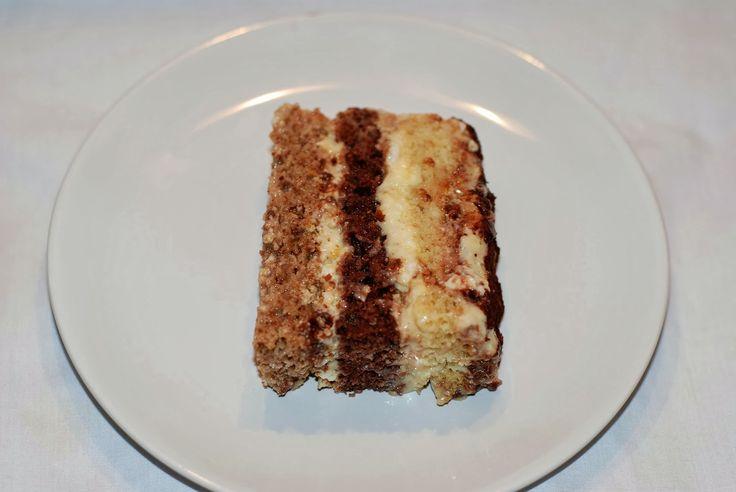 Bitter-Sweet Bakery: Somloi Sponge Cake - Somlói Galuska
