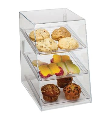 Visions Espresso Service, Inc. - 3 Shelf Acrylic Display Case, $159.95 (http://www.visionsespresso.com/3-shelf-acrylic-display-case/)