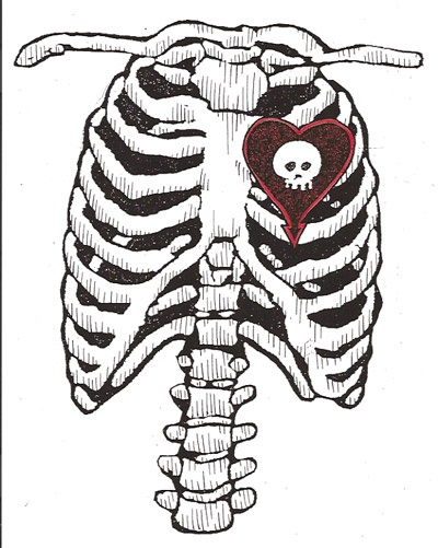 This is what my insides look like.   <3 Alkaline Trio