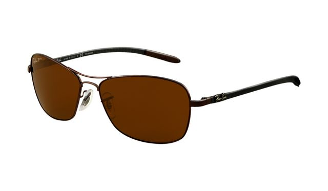 Ray Ban RB8302 Tech Sunglasses Brown Frame Brown Polar (19USD/2PCS FREE SHIPPING WORLDWIDE!!!)