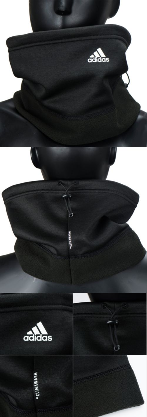 Hats and Headwear 62175: Adidas 2017 Climawarm Fleece Neck Warmer Black Unisex Face Mask Scarf Br0819 -> BUY IT NOW ONLY: $31.9 on eBay!